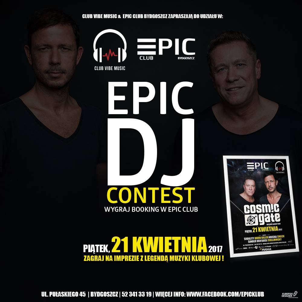 dj contest cosmic gate materia album tour