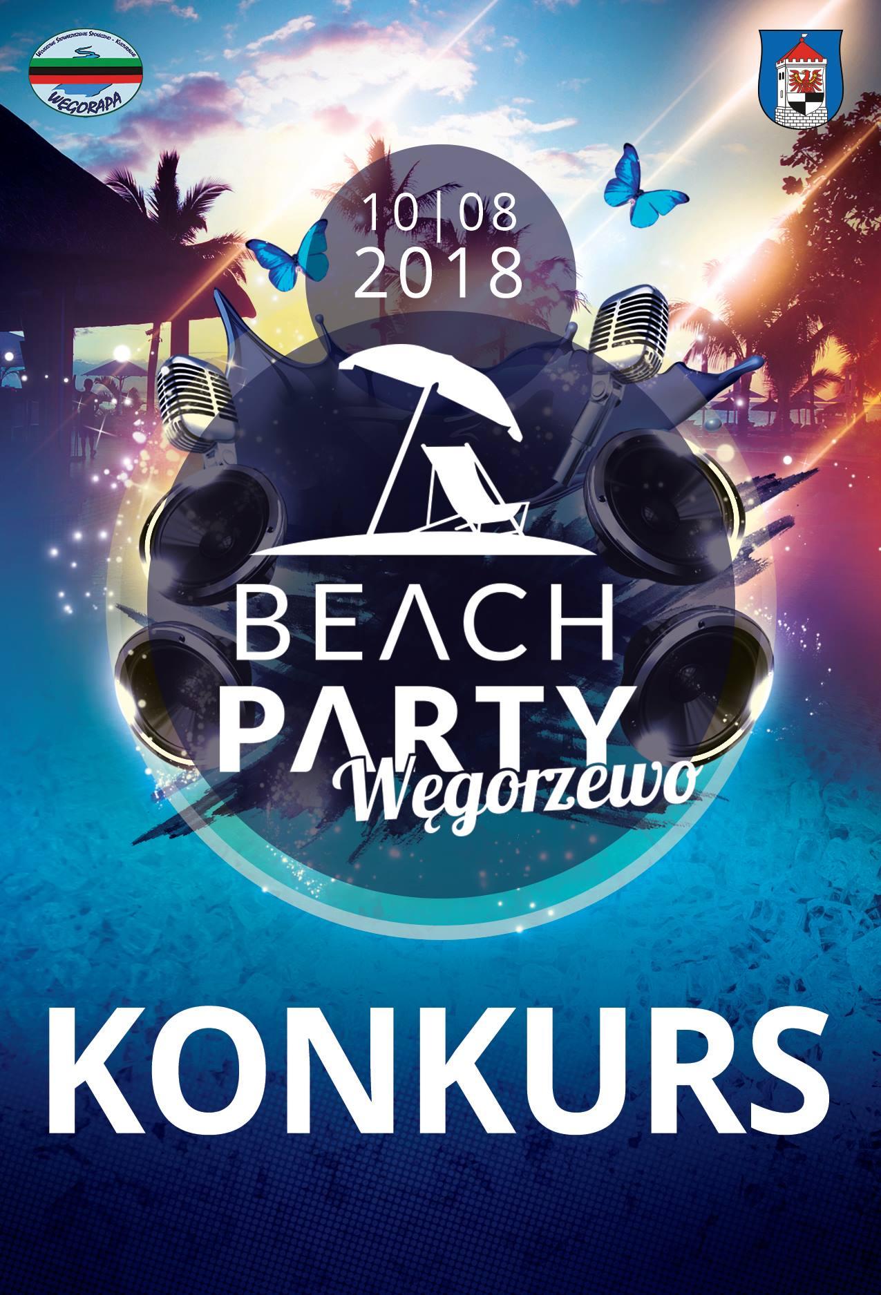 dj contest beach party wegorzewo 2018 mazury event quiz hazel impreza jeziora