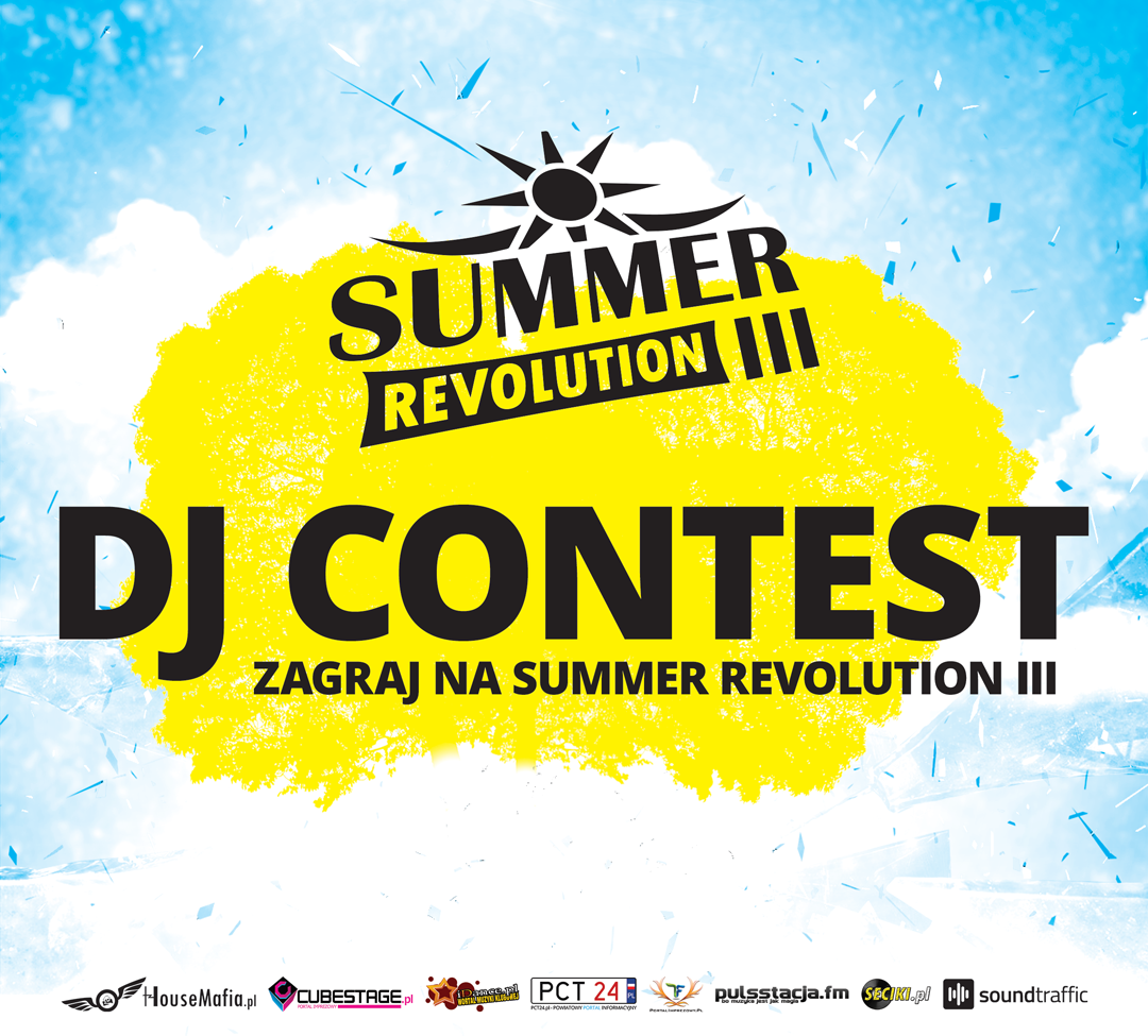 dj contest konkurs summer revolution 2018 lubasz zagraj set na event impreza support hazel quiz