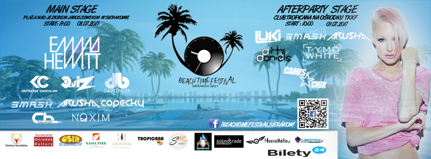 beach time festival 2017 sieraków