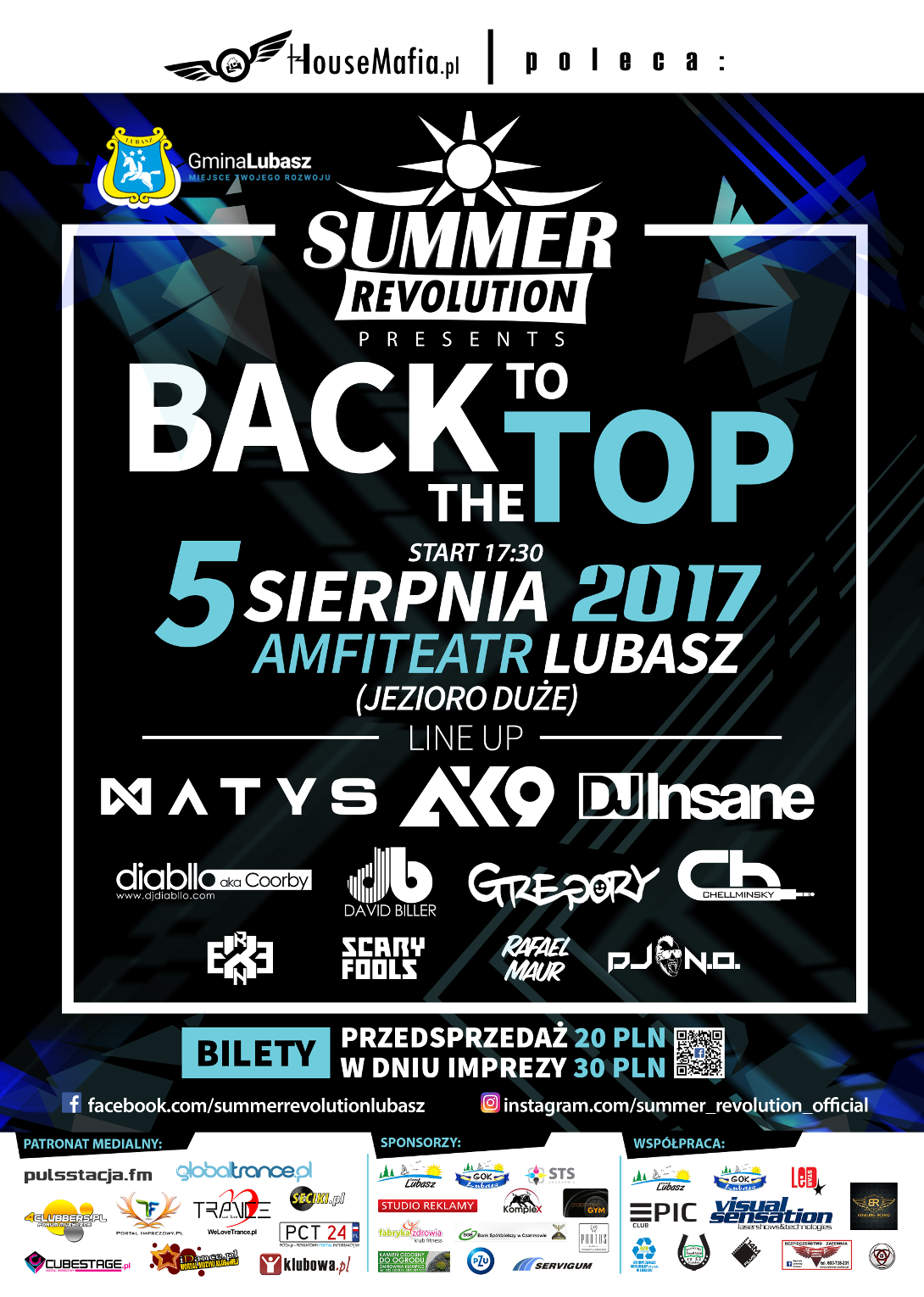 summer revolution back to the top 2017 lubasz