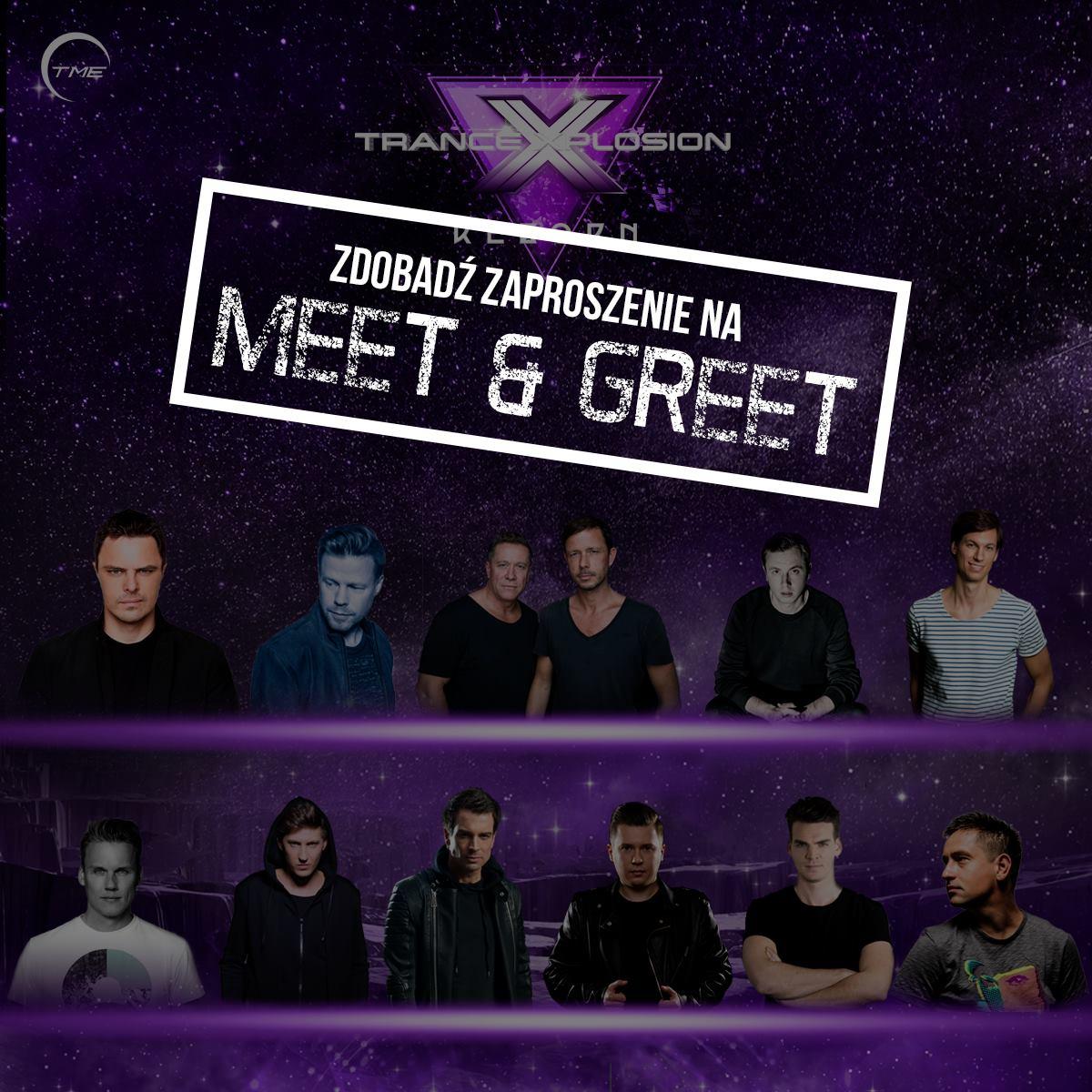 meet and greet trance xplosion tme agencja ergo arena sopot gdańsk
