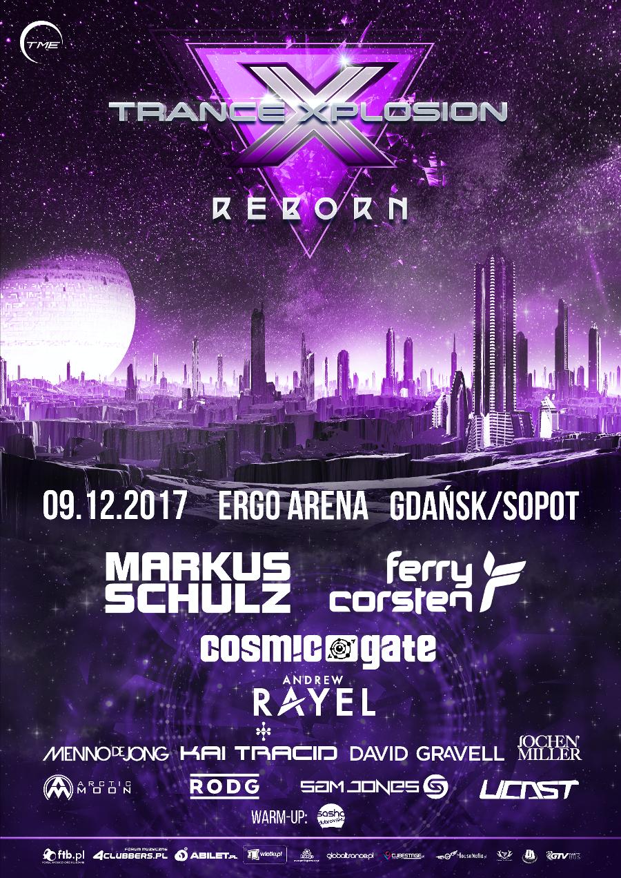 trance xplosion ergo arena bilety cena 2017