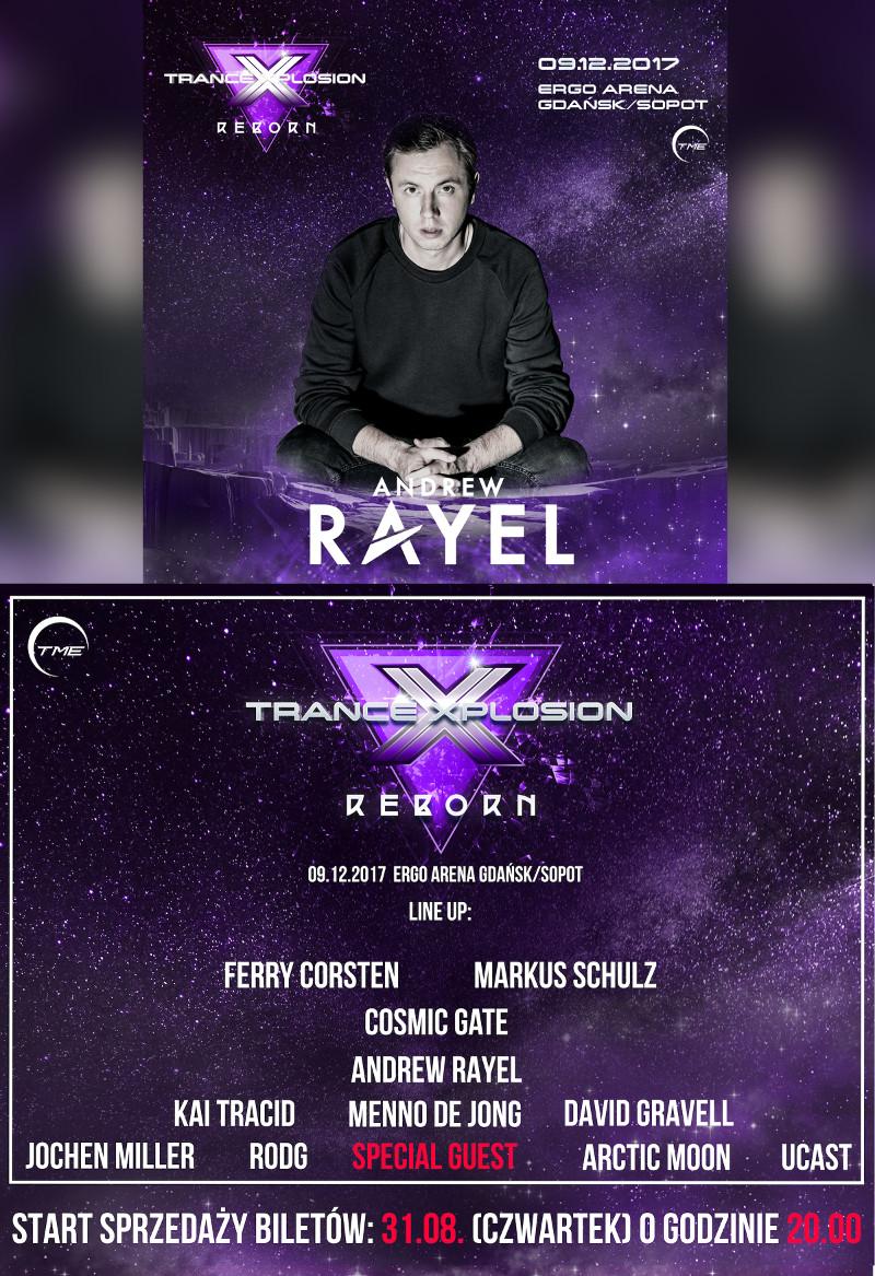 andrew rayel trance xplosion reborn 2017 ergo polska bilety