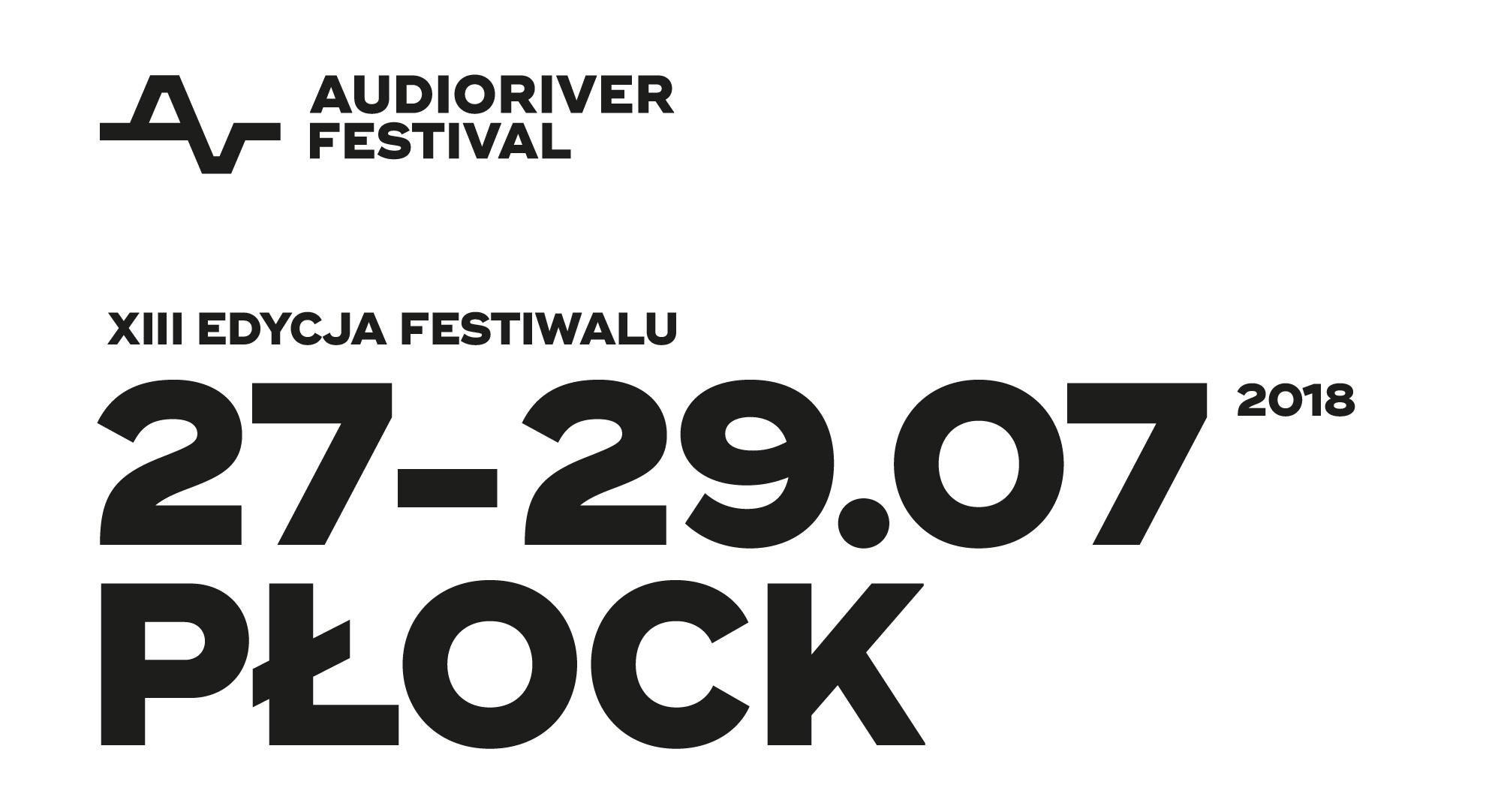 audioriver 2018 płock sprzedaż karnety cena sklep online