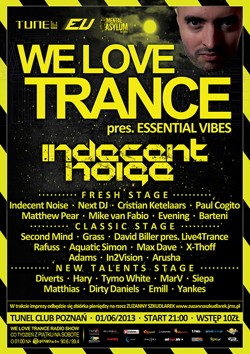 we love trance club edition 009 poster big