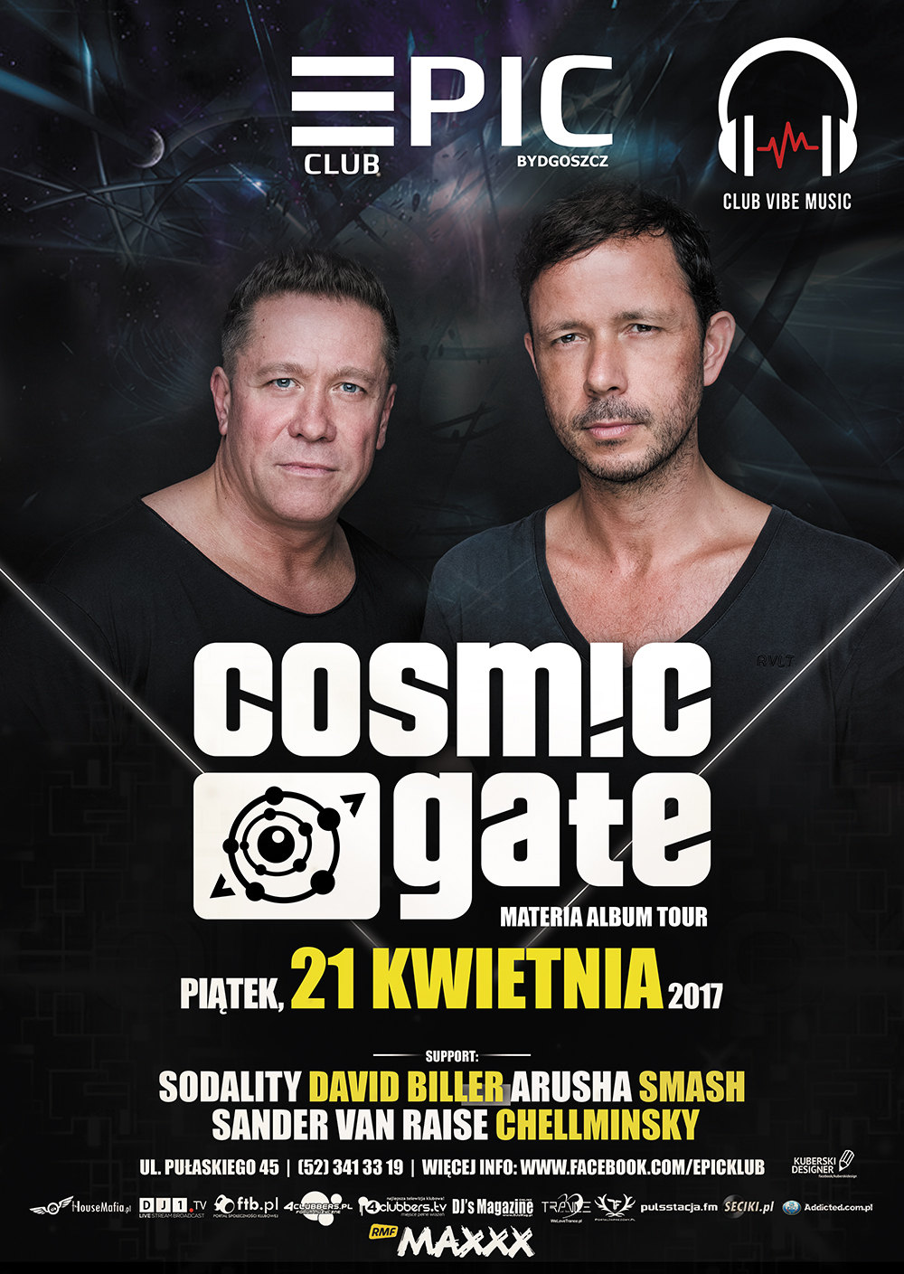 cosmic gate materia album tour