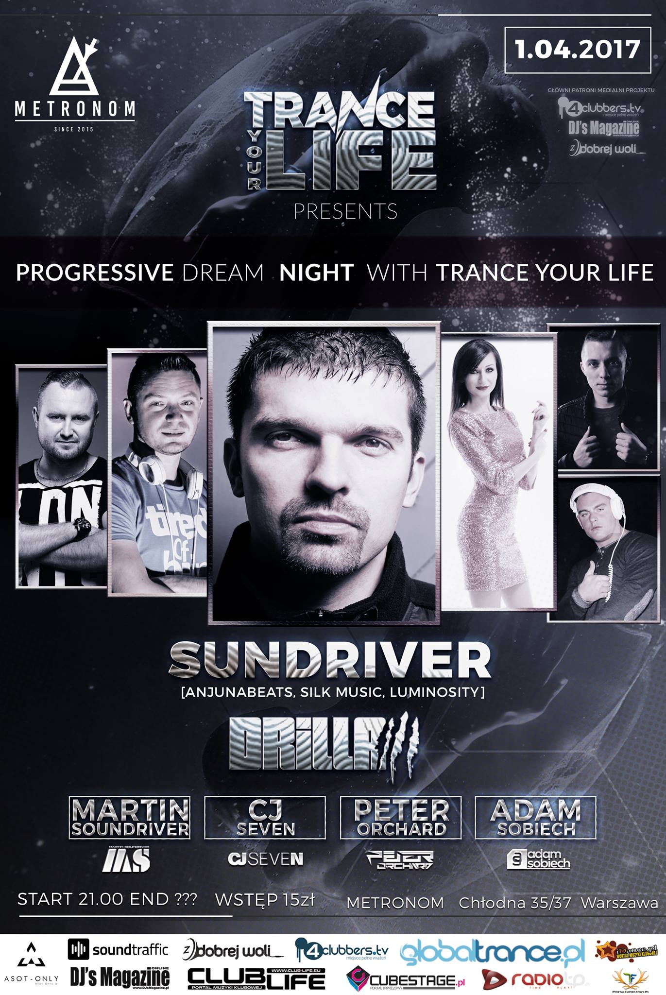 progressive dream night trance your life metronom