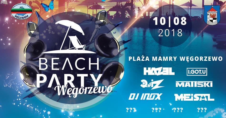beach party wegorzewo 2018 event dj inox meisal mazury jezioro bilety cena