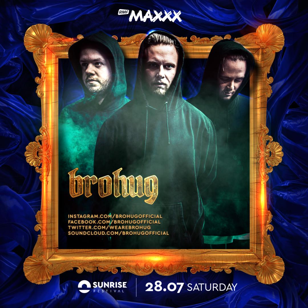 brohug dj funky funk club music klubowa muzyka trio sweden szwecja cena