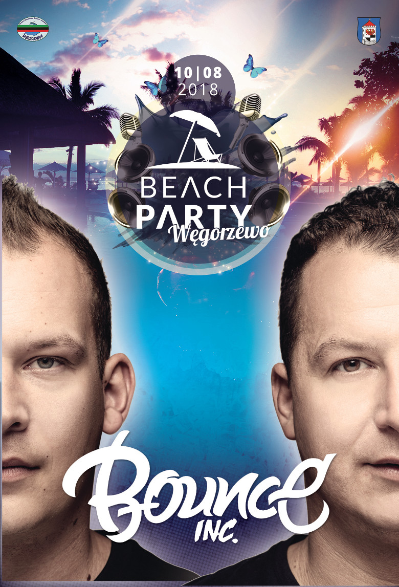 bounce inc dj producer max farenthide hubertuse electro house beach party