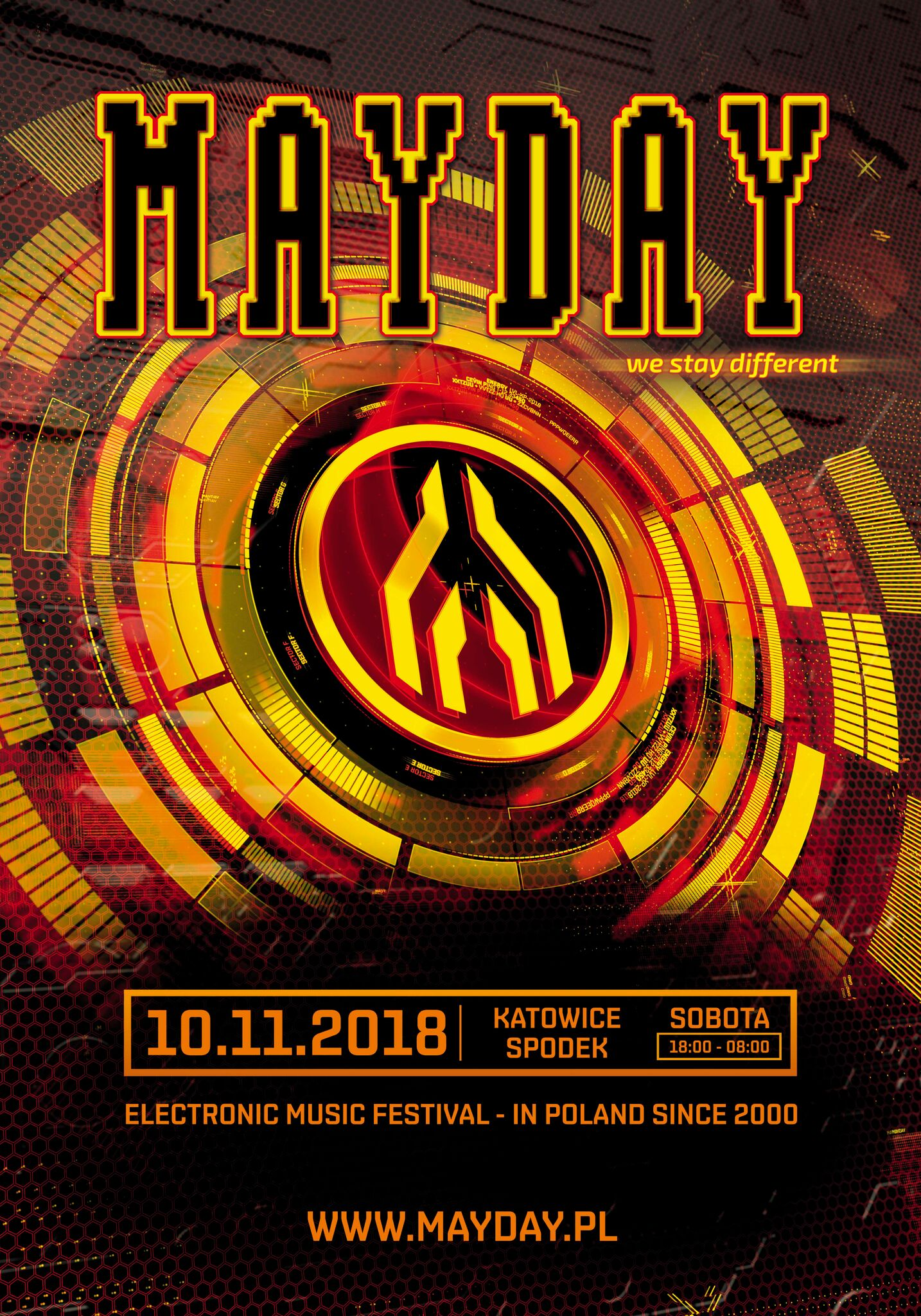 mayday poland deutsch niemcy germany bilety vip kup buy cena cost price mapa katowice spodek hala techno music house bass trailer tickets shop