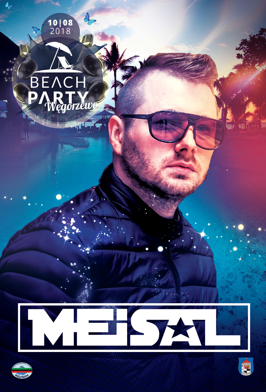 dj meisal sunrise festival beach party 2018 wegorzewo audiolake colors set