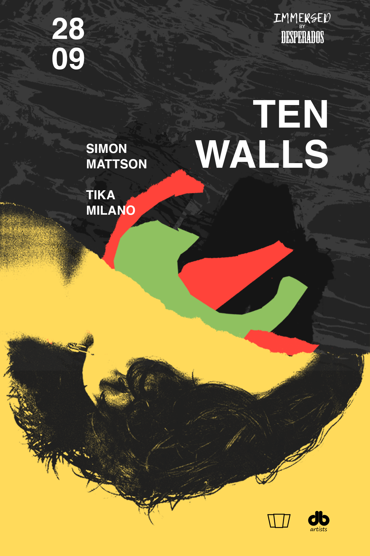 ten walls immersed chillout chill music desperados klub smolna 38 warszawa techno house deep selekcja jak sie ubrac bramka bilety dj set wydarzenie