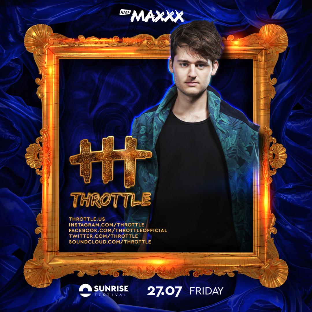 throttle dj radio hit producent sunrise festival polska poland 2018 bilety