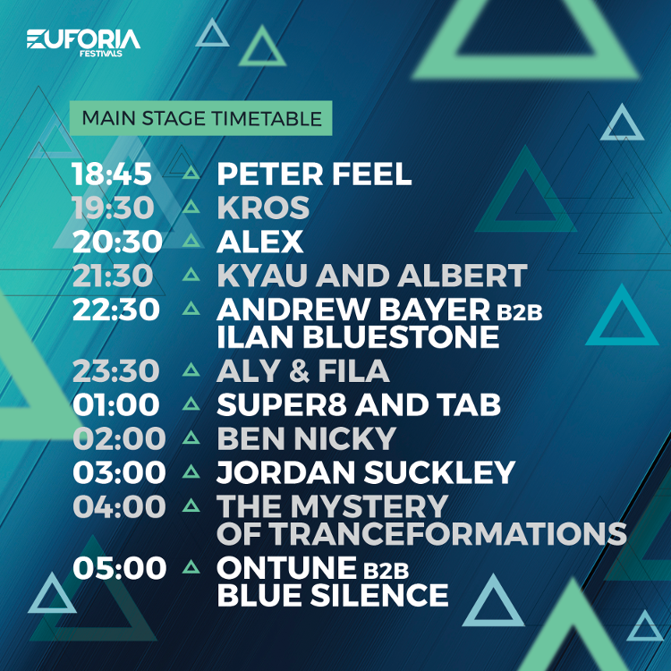 main stage tranceformations 2018 hala stulecia time table