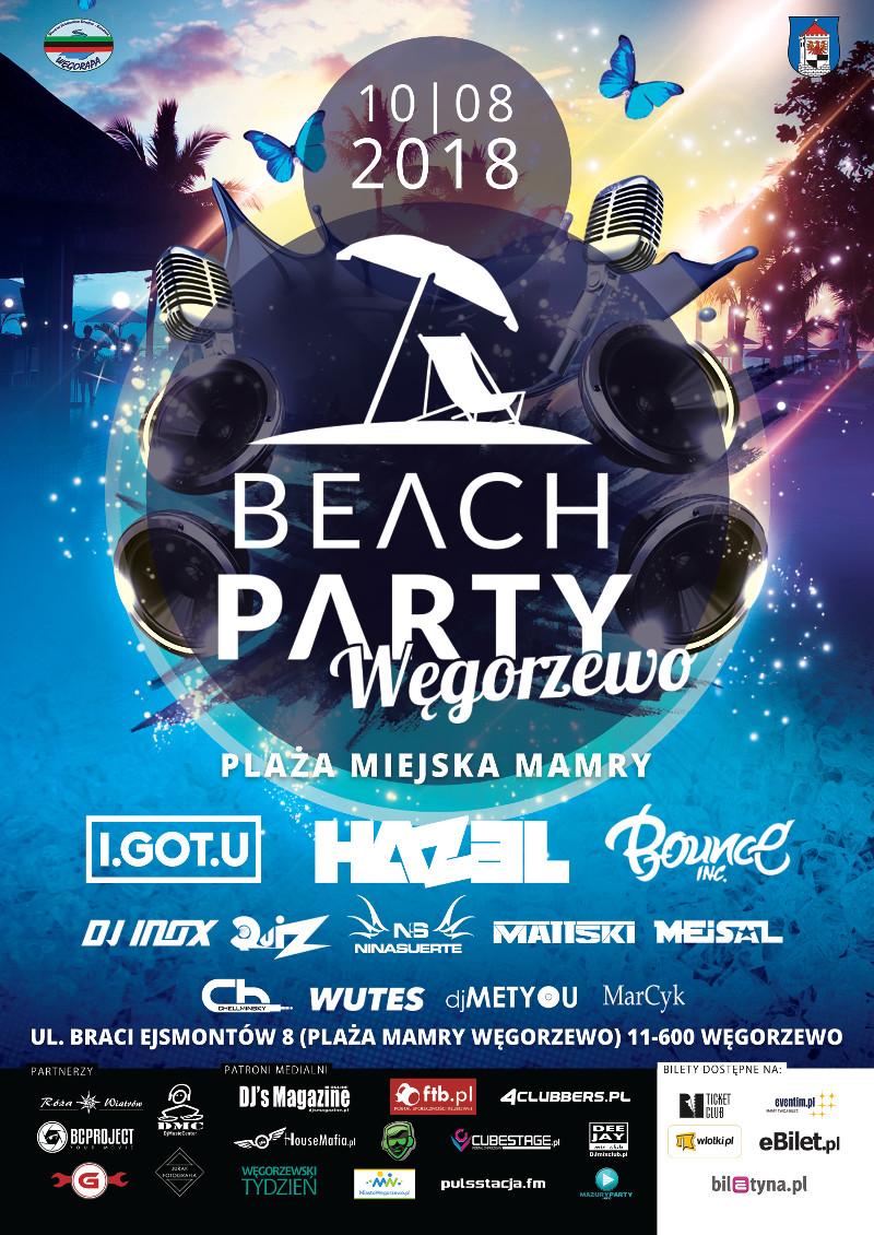 beach party wegorzewo 2018 line up hazel quiz cena bilety mazury jezioro