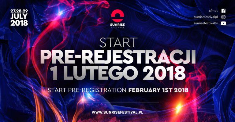 sanrajs sunrajs sunrise festival 2018 kołobrzeg amfiteatr amfi bilety line-up cena do kupienia